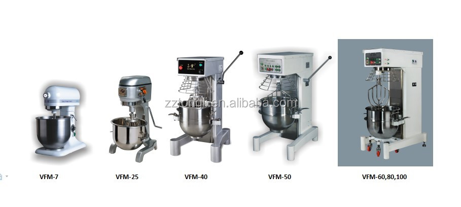 100L planetary mixer/multifunctional planetary food mixer (CE & manufacture factory)