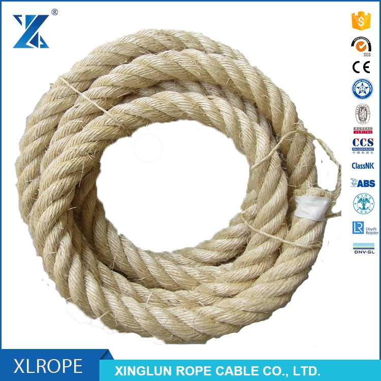 XLROPE 3 strand twisted Manila rope for sale