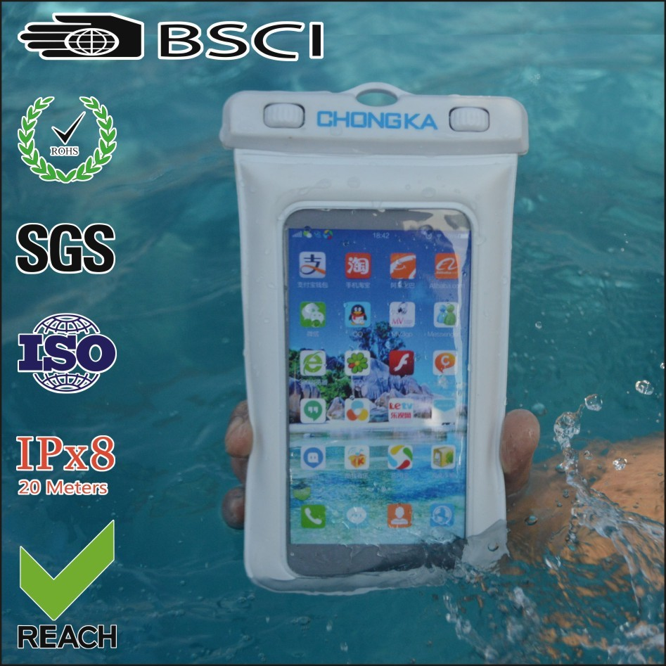 pvc cell phone waterproof cases for iphone5