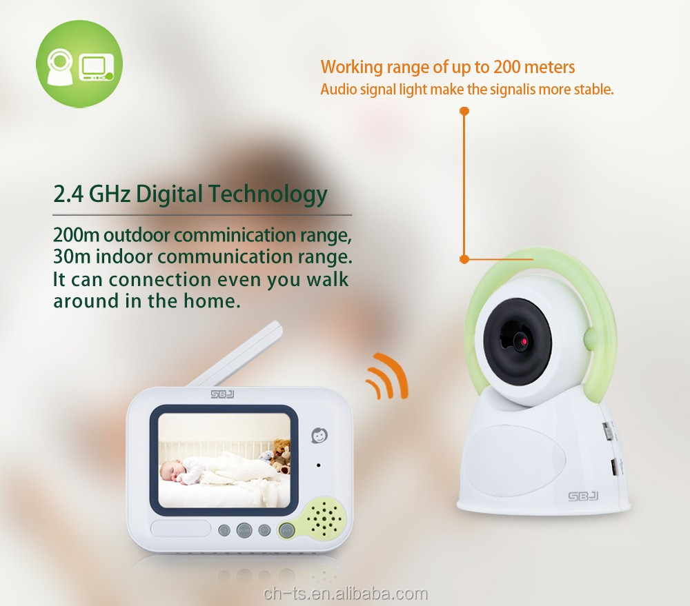 professional portable wireless digital baby camera monitors