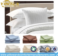 Polycotton Hotel 1CM Stripe Bedding Set Duvet Cover Set