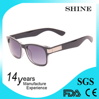 Wholesale custom colored plastic nearsighted sunglasses