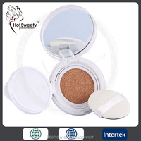 AS/ABS Ingredient and Face Use customized air cushion foundation compact powder Oil-control Waterproof Makeup