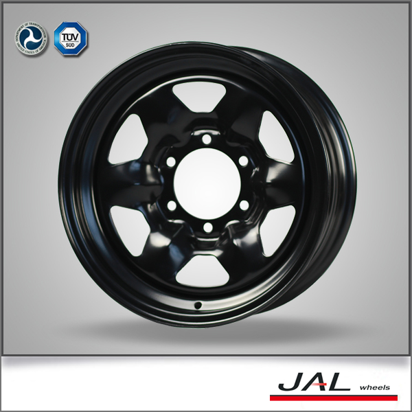 customized made wheel rims 16 inch 6x139.7 car steel wheels
