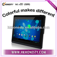 Box chip A13 7 inch Android tablet PC with colorful shell