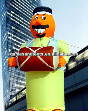 giant inflatable man/person for advertising F1022