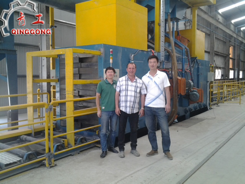 Heavy Mill Scale Parts Descaling Machine