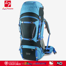 China manufacturers 65L+10L Mountaineering Hiking Backpack