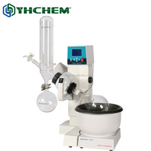 Upgaded lab vacuum distillation unit, RE2000E 2L rotary evaporator with motor lift