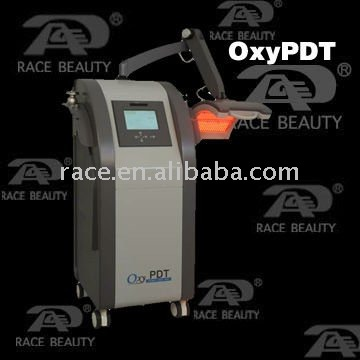 RACE New Design Multi-function Oxygen Treat,Vacuum&PDT Beauty Equipment --OxyPDT(CE,ISO,D&B)