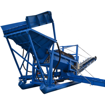 Fine gold sand recovery Trommel made in China