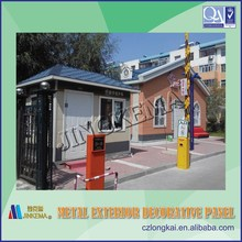 Prefabricated polystyrene sandwich panel used for steel structure prefabricated houses, buildings, villas