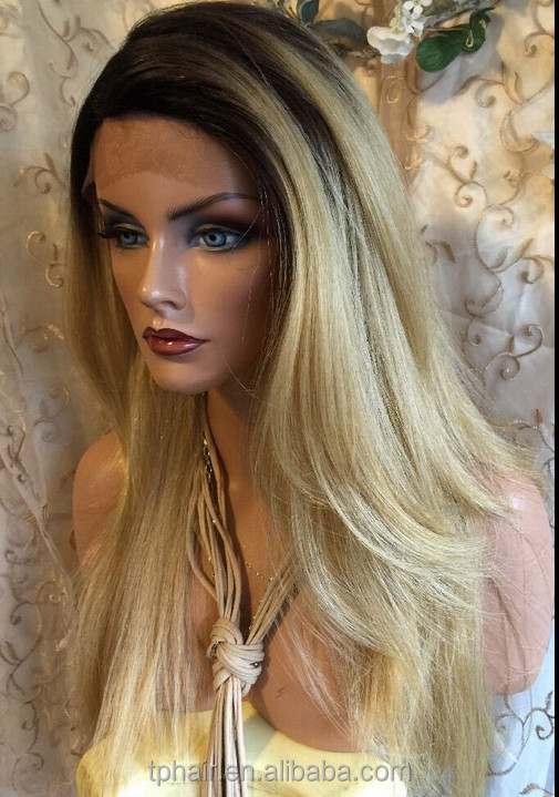 Realistic Blonde Wig 115