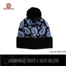BSCI SEDEX Custom custom wholesale plain beanie knit ski cap hat warm winter running blank wool beanie hats