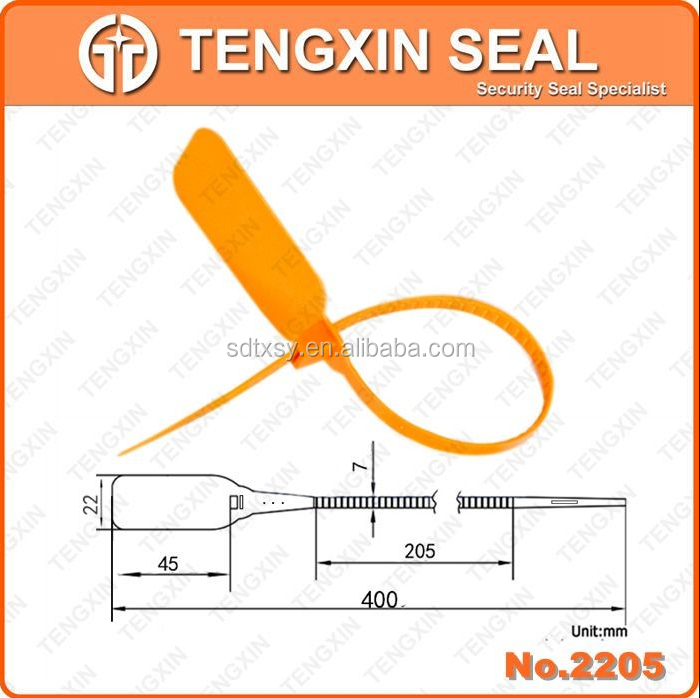 TX-PS205 400mm plastic seal,plastic flex seal,plastic seal for sale