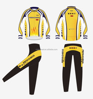 customized cycling kits Breathable long sleeve cycling uniform Sublimation Print Quick Dry Pro Team Cycling Jerseys
