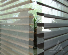 Interior Elegant Motorized Roller Shang-ri Window Blind Shades