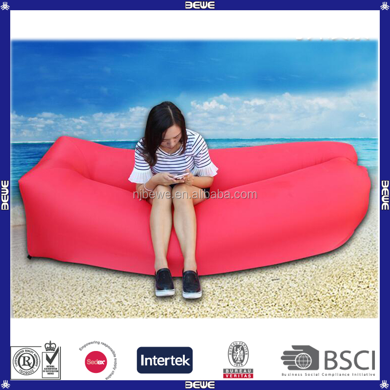 Outdoor Quick Inflatable Lightweight Portable Lounger Bed Sofa