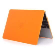 for macbook accessories shell cover for macbook, sillicone matte Case for apple macbook pro 2016