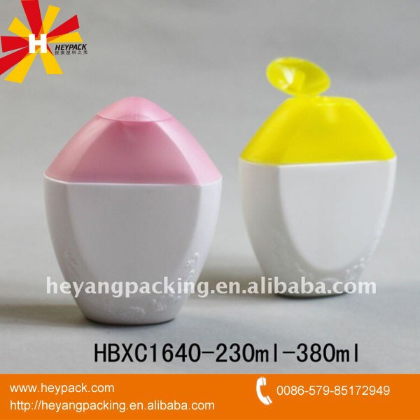 230ml 380ml shampoo and lotion plastic bottle container