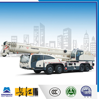 70t right hand drive mobile crane heavy lifting crane for sale popular crane with boom truck
