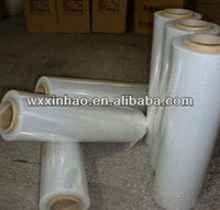 PE film with medium adhesive for mill finished aluminum sheet