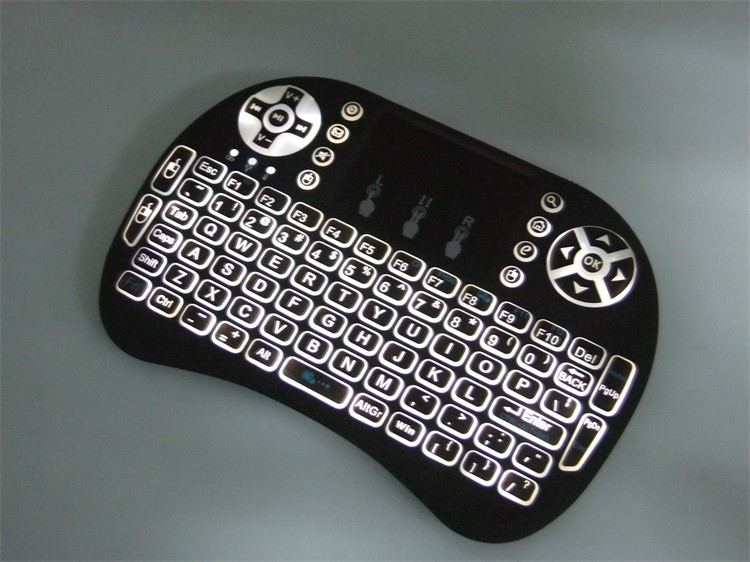 I8 Pro mini keyboard Innovative shape, protable, elegant.mini wireless keyboard and mouse