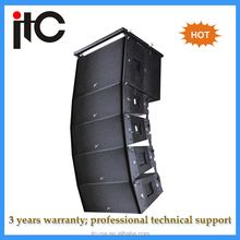 Outdoor profesional music active line array speaker for sound system