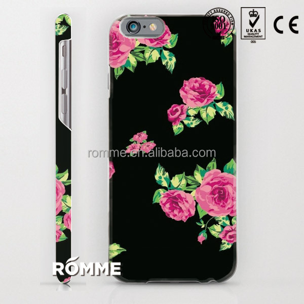 Professional phone cover case manufacture customize print 3D sublimation printing hard PC cover for iphone 6