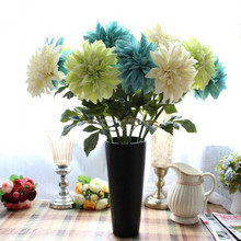 18 cm Diameter Artificial Flowers fake Dahlias for home decor