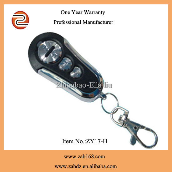 mental and pvc ASK remote control , for anti-theft alarms, motor-driven curtain etc.(ZY17-H)
