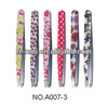 The best colorful flower printer eyebrow tweezer for girls
