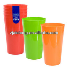 European Fashionable First Rate High Quality cup plastik pp Bpa free
