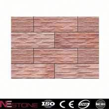 Indoor rusty slate wall stacked stone tiles