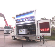 2018 Hot Selling Big Carro De Publicidad Screen Outdoor Square Led Tv