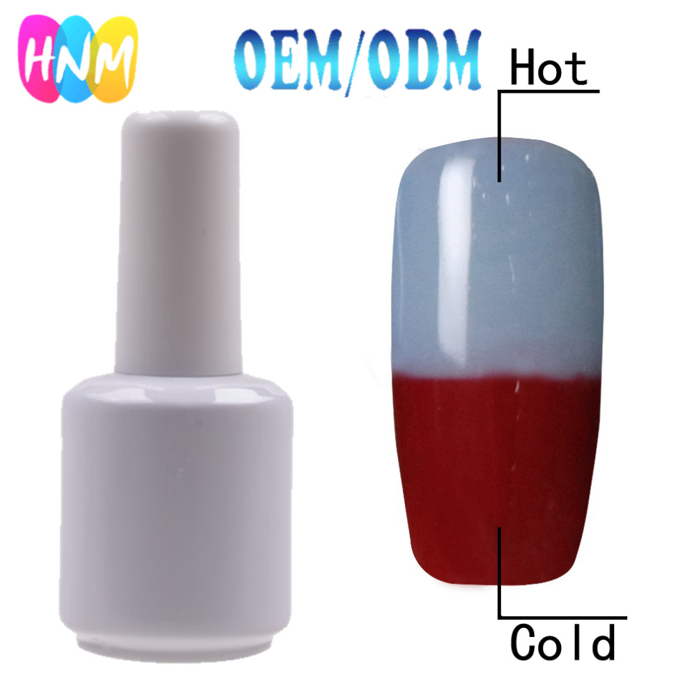 HNM # TC009 Used in Manicure Materials Wholesale Factory Nail UV Color Changing Gel Polish