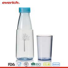600ml Wholesale Tritan Plastic Water Bottle With Metal Lid