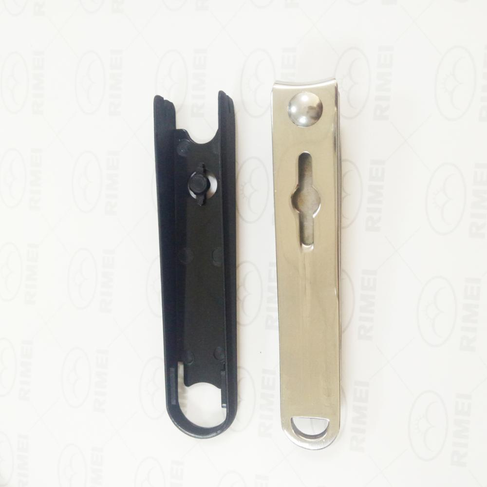 Stainless steel heavy-duty nail clipper with plastic cover catcher