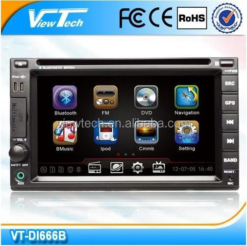 6.2 inch 2 DIN Car DVD GPS with HD Touch Screen/ steer wheel control