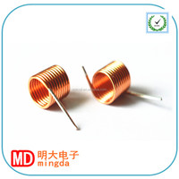 Copper Wire charger Coil/air core inductor coils/wireless tv antenna ROHS