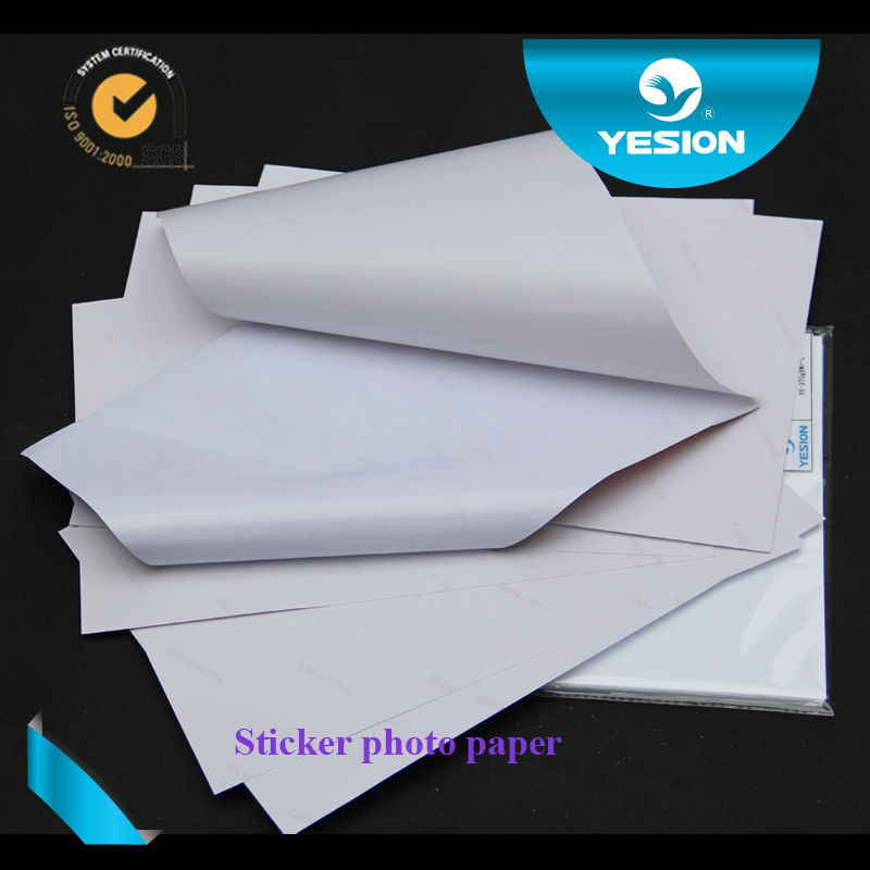 Strong stickness 135gsm Self Adhesive sticker matte photo paper for inkjet printers