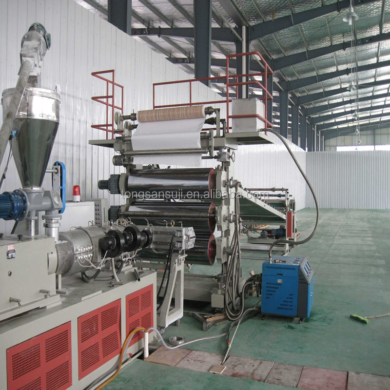 PVC marble board making machine/PVC decoration sheet production line/PVC stone sheet extrusion line