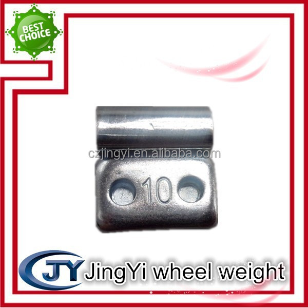 Fe steel balance wheel weight/steel clips for boxes
