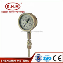 Exhaust oil thermometer to measure temperature