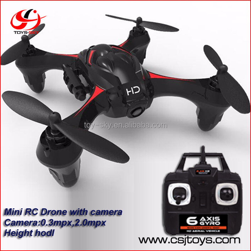Shantou Chenghai Toy Factory 2.4G 6 Axis Mini Selfie air drone Built in Camera