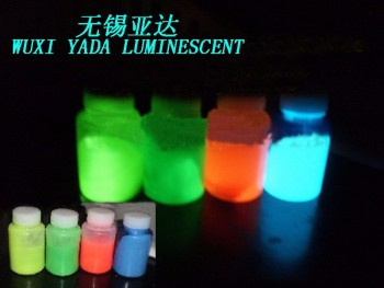 luminescent paint / glow in dark water base paint use for wall tunnel
