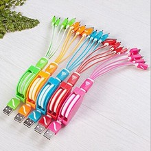 Wholesale 4 in 1 USB3.0 3ft Micro usb charging cable 7 pin multi-function retractable usb cable