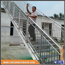 galvanized steel stairs, bar grating stair treads (T1,T2,T3,T4)