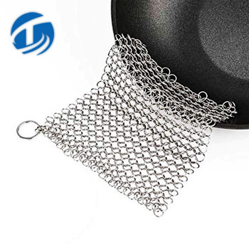 Square Stainless steel 316 Scrubber Mesh
