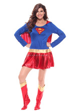 Newest American hero Clothing Sexy Superhero Costume Halloween Costumes For Women Adult Carnival Cosplay